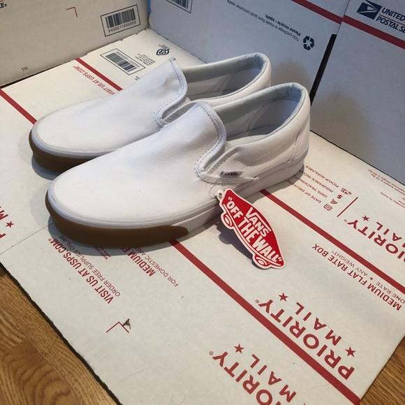 white vans gum toe